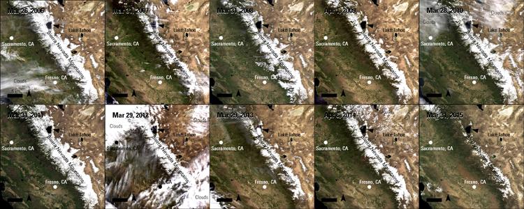 El Niño Suspected California Droughts