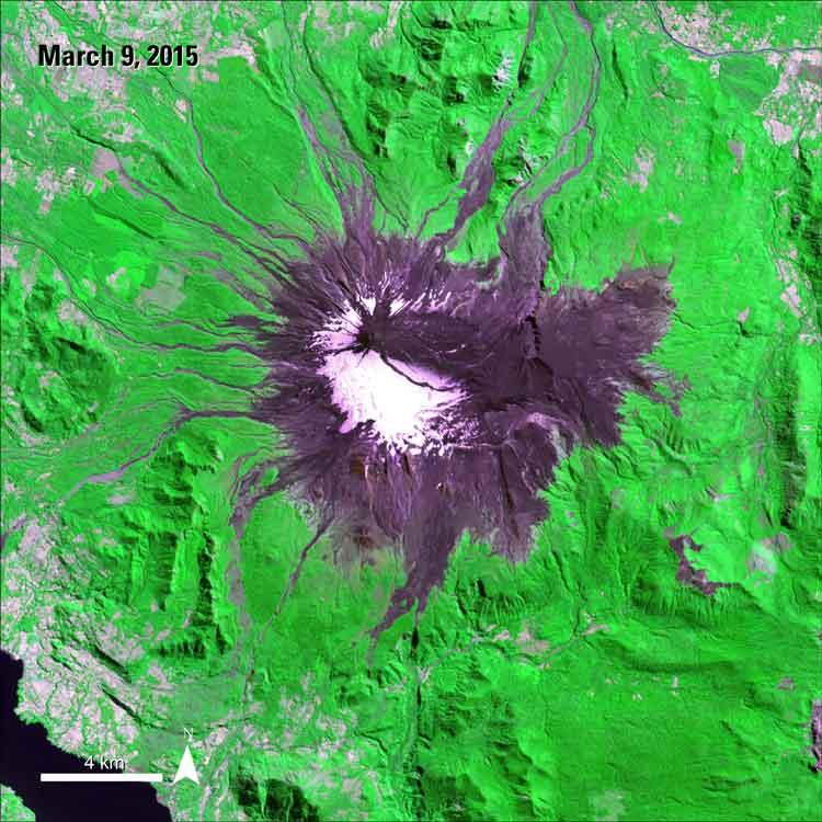 Volcanic Eruption Tests New Data