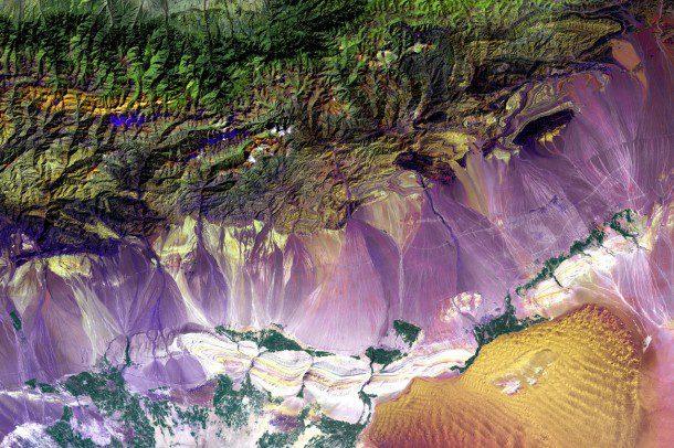 Earth Imaging Journal, EIJournal.com, Satellite Imaging, Satellite Imagery, Bogda Mountains