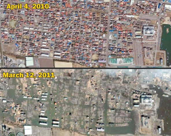 Imagery in the News: Satellite Images Reveal Earthquake