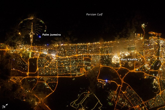 March 14 2012. Dubai Lights up the Night & Dubai Lights up the Night « Earth Imaging Journal: Remote Sensing ...