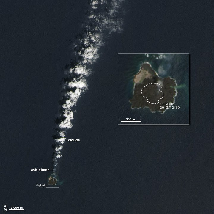 New Pacific Island Consumes Its Neighbor « Earth Imaging