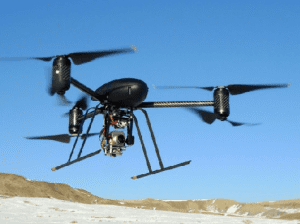 """LAPD added two new Draganflyer X6 UASs to its law enforcement arsenal, but the department will not be calling them """"drones."""""""
