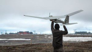 UAS maker AeroVironment's Puma AE UAS is used by BP at Prudhoe Bay in Alaska.