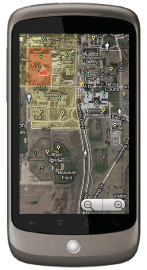 Adding mobile-sourced, georectified imagery to an emergency response scenario enhances the ability to collaborate with ground resources and provide up-to-date, relevant information.