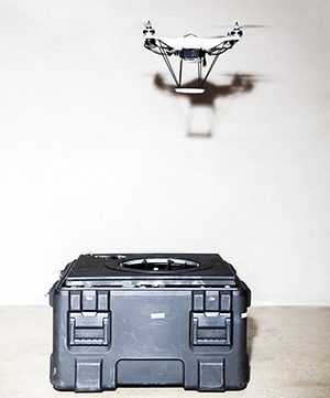 Ground stations are key to scaling drones as a data-collection tool, according to Skycatch founder and CEO Christian Sanz. As long as they have a power source, the drones can take off and land indefinitely without direct human intervention—and it's this automation that could turn them into a service that companies can use rather than maintaining their own expensive toys.