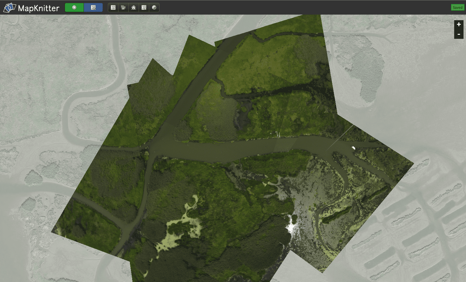 Public Lab Leads Mapping Blitz In New Orleans Earth Imaging - Aerial mapping software