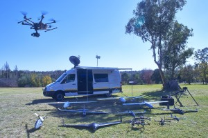 Mobile Command Unit with Drone (1)