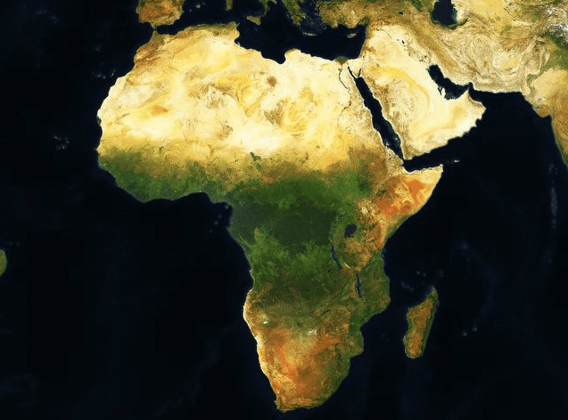 Digitalglobe Releases High Resolution Map Of Africa