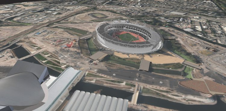 The Drawing Toolbox in BAE's SOCET GXP allowed users to extract structures under construction for the 2012 Summer Olympics in London.