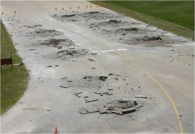 Sensing Challenge Airfield Damage Assessment 171 Earth
