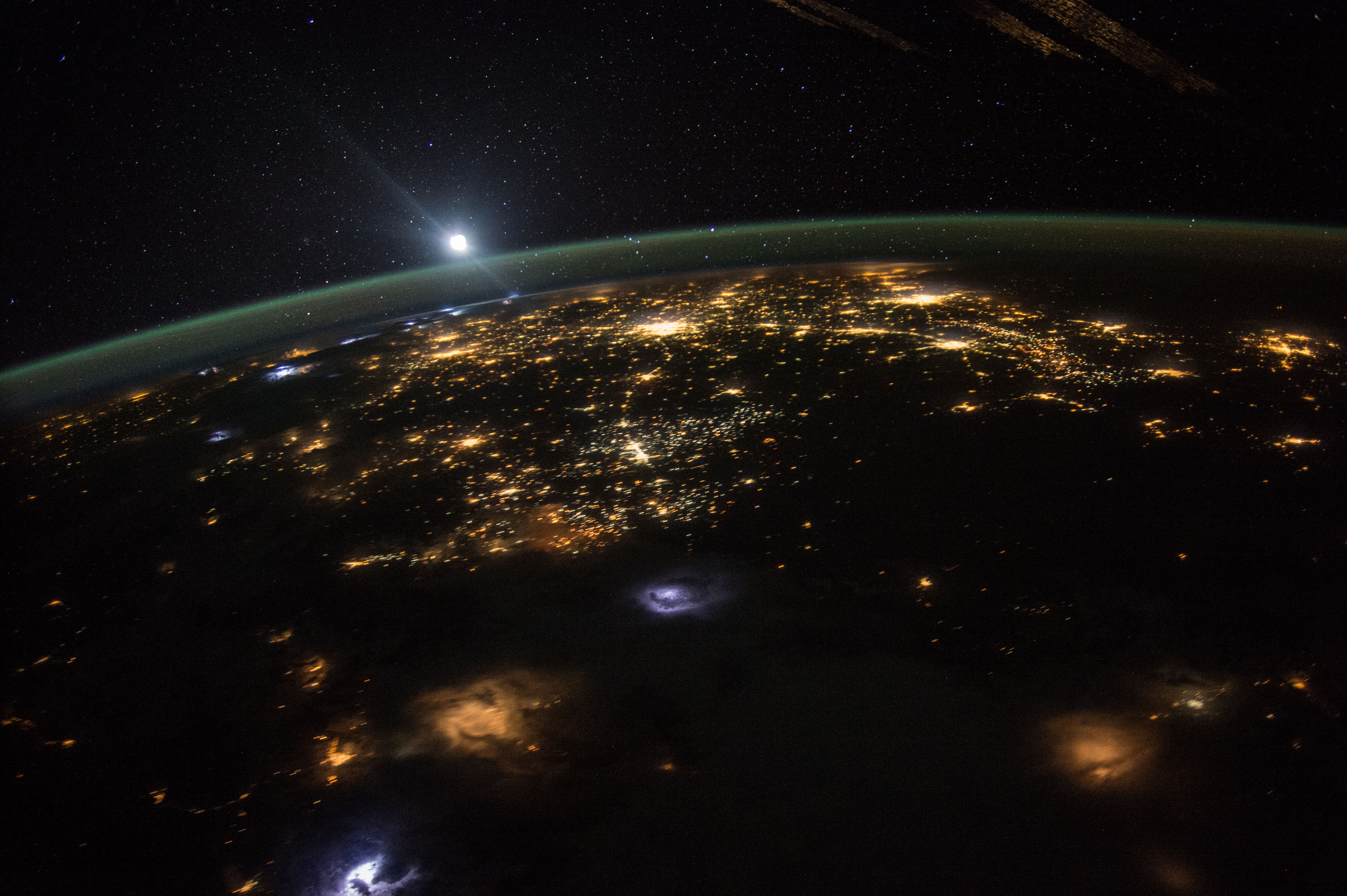 Good Morning From International Space Station « Earth ...