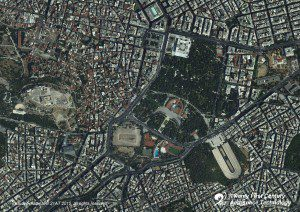 An image from the recently launched TripleSat-2 shows Athens, Greece.