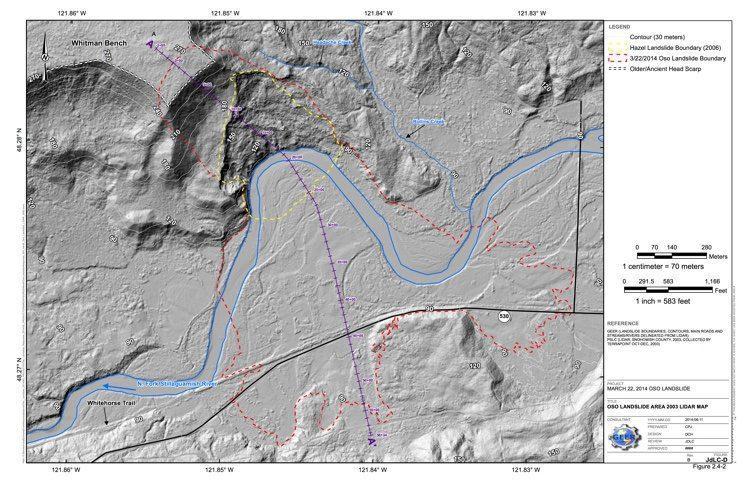 JdLC-D_Oso Landslide Area 2003 LiDAR Map
