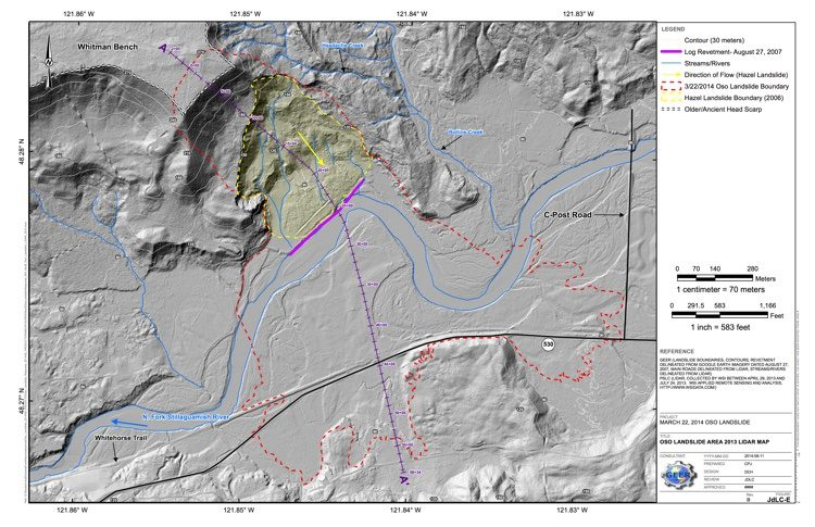 JdLC-E_Oso Landslide Area 2013 LiDAR Map