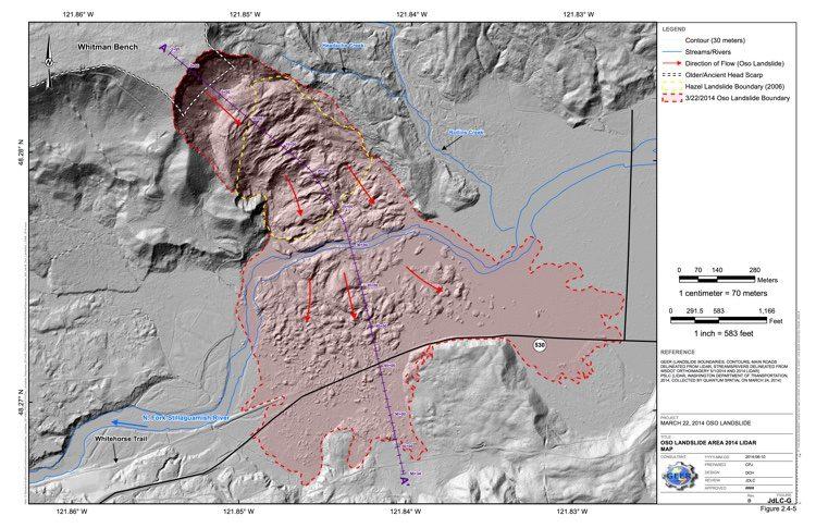 JdLC-G_Oso Landslide Area 2014 Lidar Map