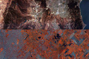 A new African Resource Management Constellation satellite, expected to launch in 2019, will have remote-sensing capabilities beyond South Africa's current Sundambila satellite, which was launched in 2009 and captured this image. (Credit: Sundambila/Denel Spaceteq)