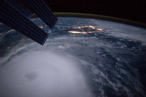 NASA Astronaut Scott Kelly captured this photograph of Hurricane Joaquin from the International Space Station on Oct. 2, 2015. (Credit: NASA)