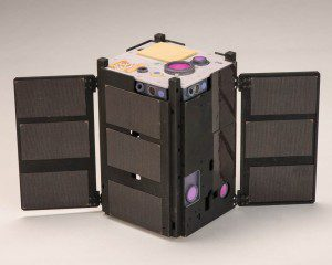 The OCSD CubeSat differs from other space-based laser-communication systems because the laser is hard-mounted to the spacecraft body, and the CubeSat's orientation controls the beam's direction. (Credit: NASA/Ames)