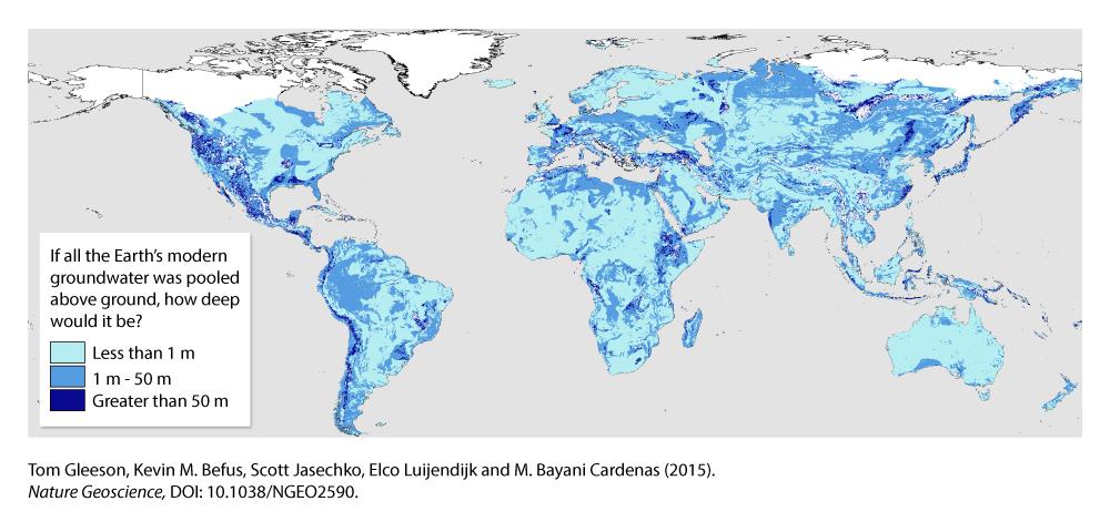 Study Maps Earths Hidden Groundwater Earth Imaging Journal - World map online satellite 2015