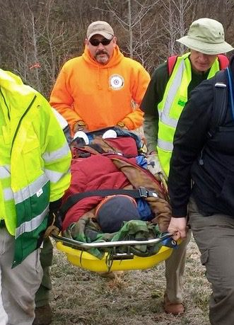 This person was successfully rescued in 3.5 hours because the data pointed the search team toward the correct location.