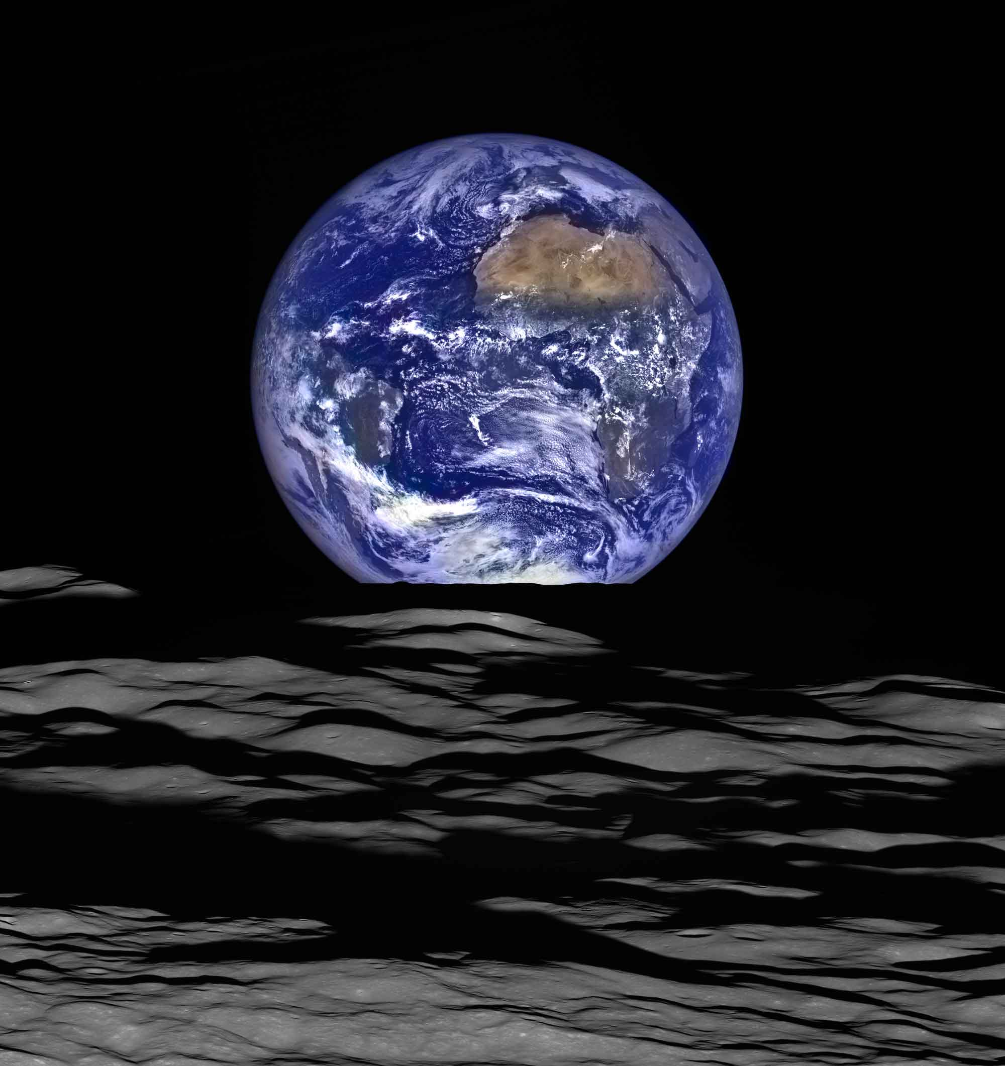 Via Facebook Home Beautiful Magazine Australia: 1968 Earthrise Image Reimagined « Earth Imaging Journal