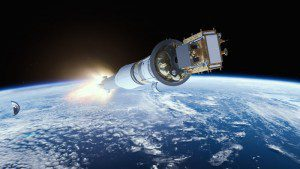When Sentinel-1B is fully operational, the mission will be able to image every place on Earth every six days, offering increased coverage for operational and scientific applications. (Credit: ESA/ATG medialab)