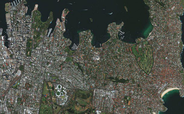 Pioneer DigitalGlobe hasn't sat still during the remote-sensing revolution. It's WorldView-3 satellite produces multispectral images with one-meter resolution and panchromatic data at 25-centimeter resolution.