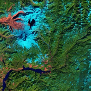 Through the Copernicus Accelerator, participants will receive support from experienced mentors and work with them on advancing their innovations over a period of several months. The Sentinel-2 satellite, part of the Copernicus program, recently captured this image of Mount St. Helens, where snow appears light blue and pink represents areas with little to no vegetation. (Credit: Contains modified Copernicus Sentinel data (2016), processed by ESA)
