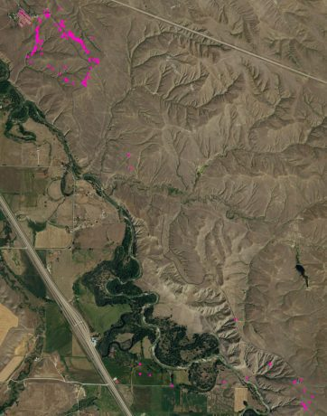 Battlefield markers also were extracted from the lidar data via MHHC, a three-step process that locates the center of gravity corresponding to the location of the marker.