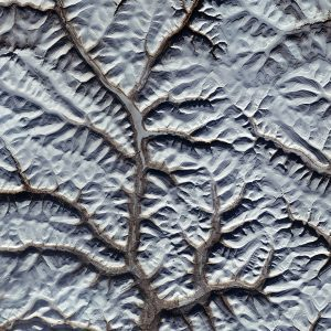 An image captured by the ESA Copernicus Sentinel-2A satellite shows part of Siberia's Putoransky State Nature Reserve, which is listed as a UNESCO World Heritage Site. (Credit: Contains modified Copernicus Sentinel data (2016), processed by ESA)
